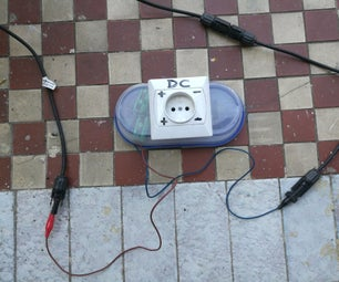 Solar Power Outlet (without Inverter)