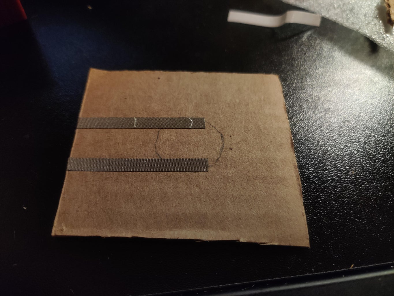 Applying the Conductive Fabric Tape