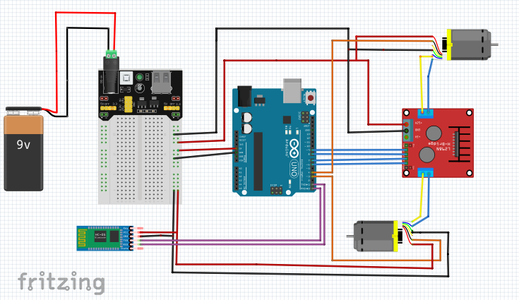 Connet Bluetooth Module to Arduino