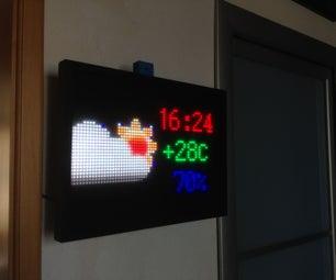 O-R-A  RGB Led Matrix Wall Clock and More **updated Jul 2019**