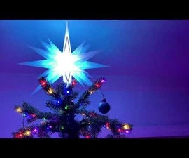 Wifi Moravian Star Christmas Tree Topper