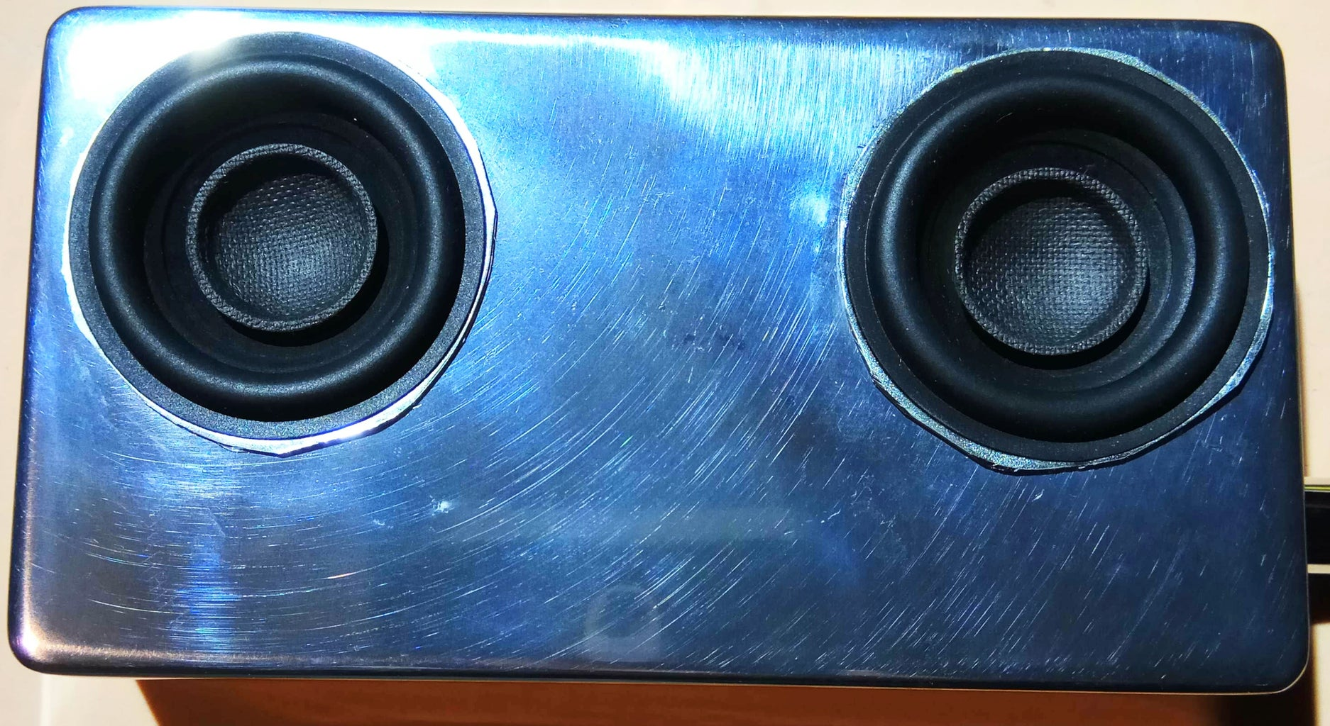 The Holes for the Speakers: