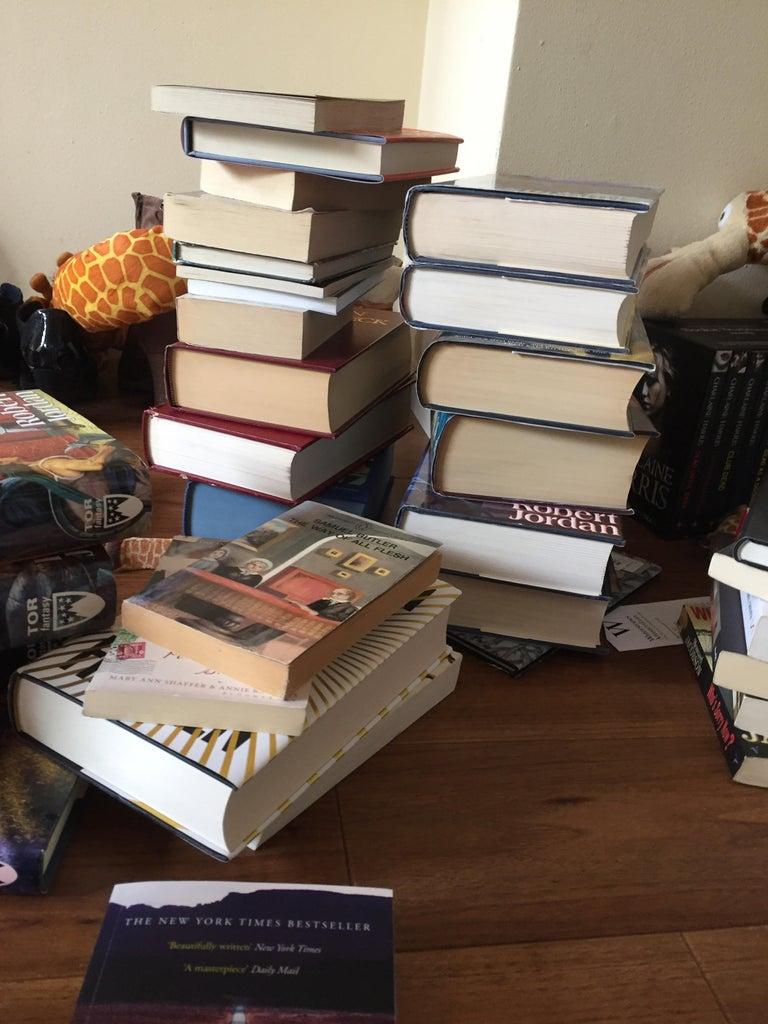 Initiate Chaos - Create Piles of Books