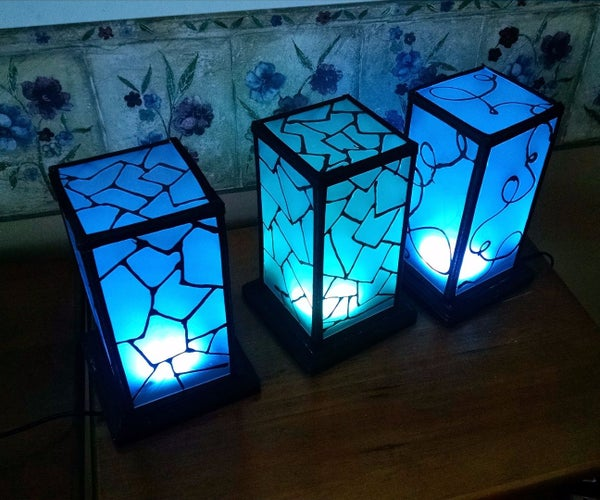 Networked RGB Wi-Fi Decorative Touch Lights
