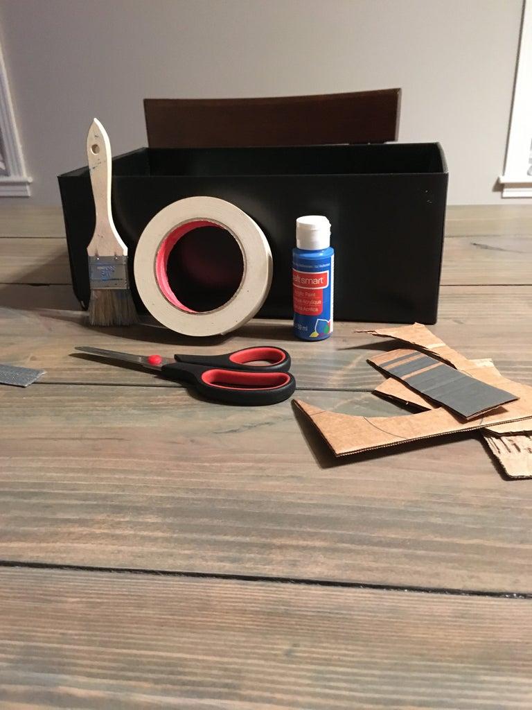 Cardboard Craft Bin