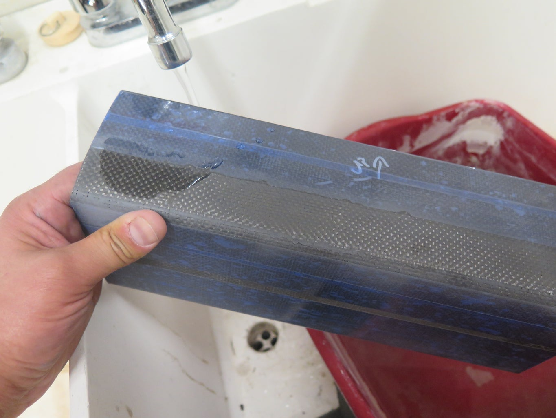 Composite Surface Prep - Water Break Test