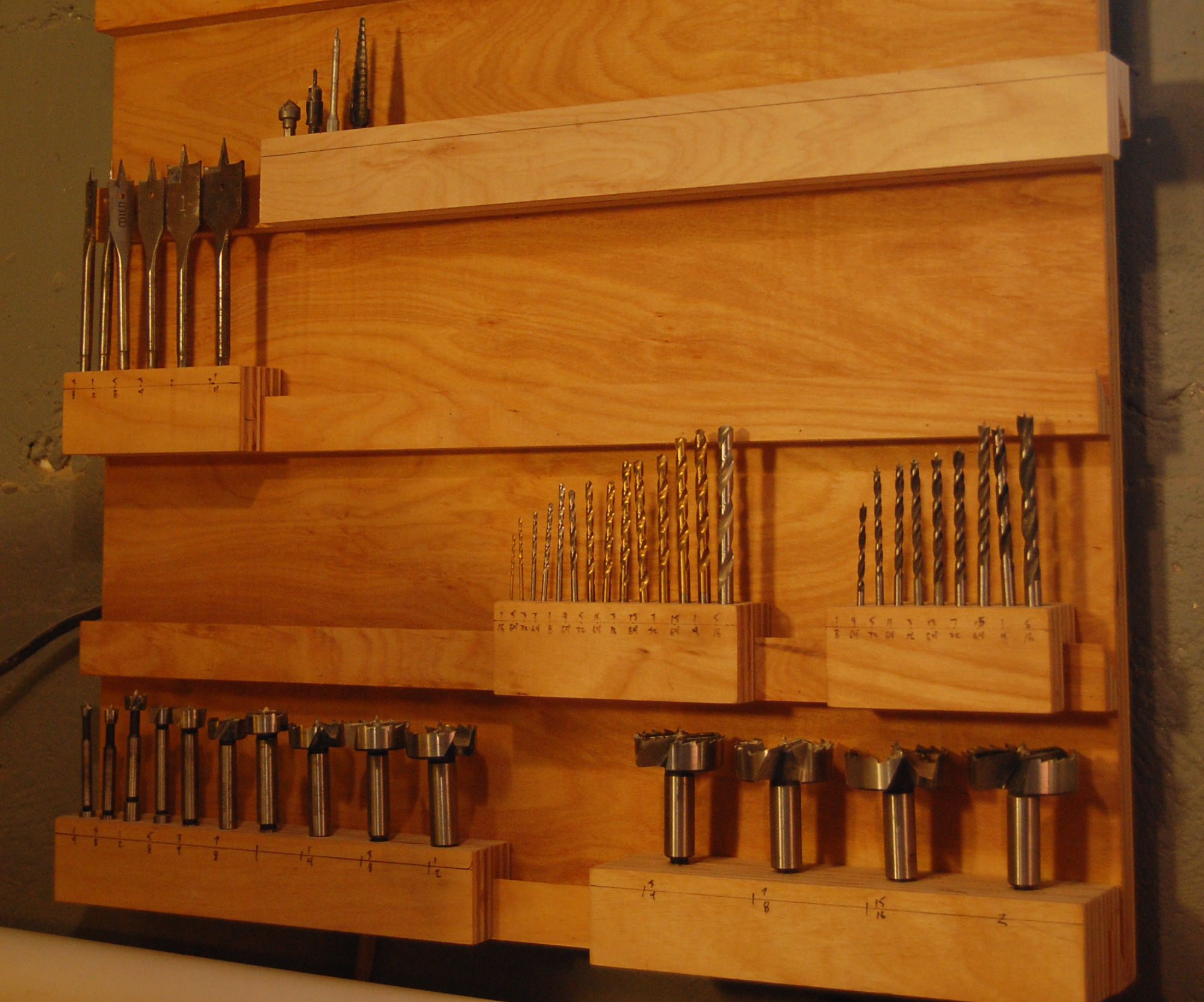 The Drill Bit Rack