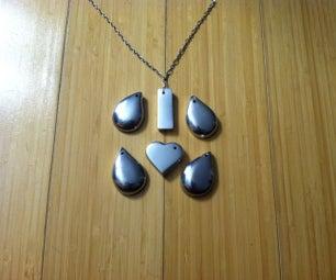 Cast Aluminum Pendant