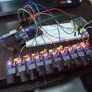 Air Piano Using IR Proximity Sensor and Arduino Uno Atmega 328
