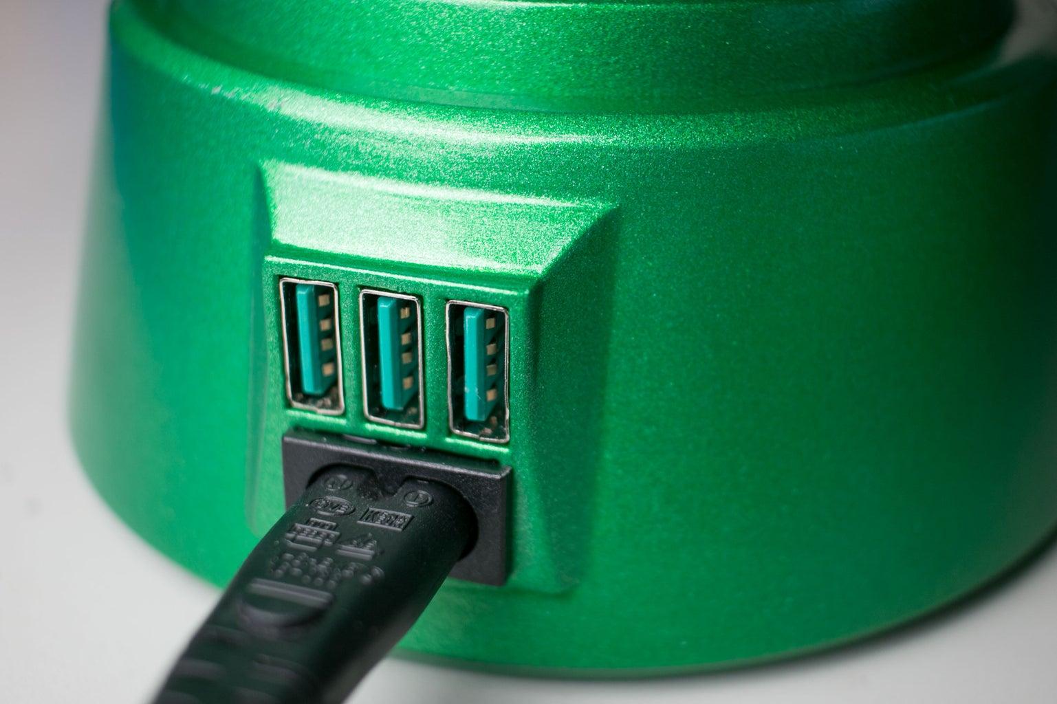 Qi Green Lantern Charger