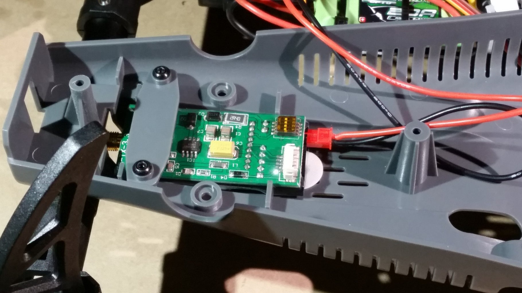 Connect the FPV Components