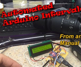 Automated Intervalometer From a Cheap Shutter Release Cable