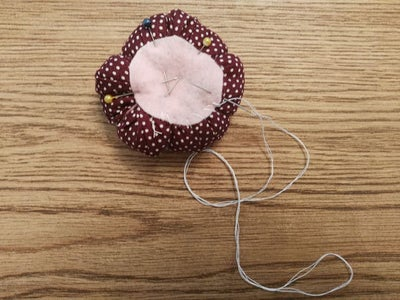 To Finish It All Use a Circle of Felt and Just Sew It on the Bottom.