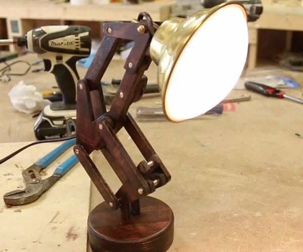 DIY Luxo Jr. Lamp (Pixar Inspired)