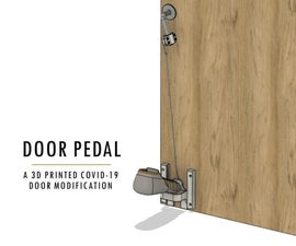 Door Pedal: an Anti-COVID-19 Door Opener