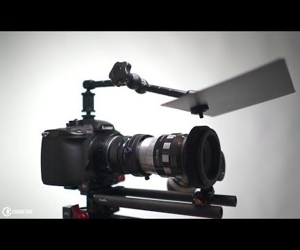 DIY Cine Shade Lens Flag