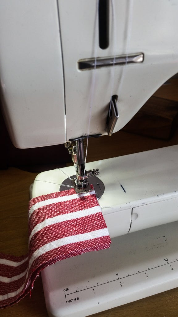 Sew Up the Side Strips