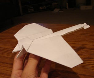 How to Build a Cool Stunt Paper Airplane