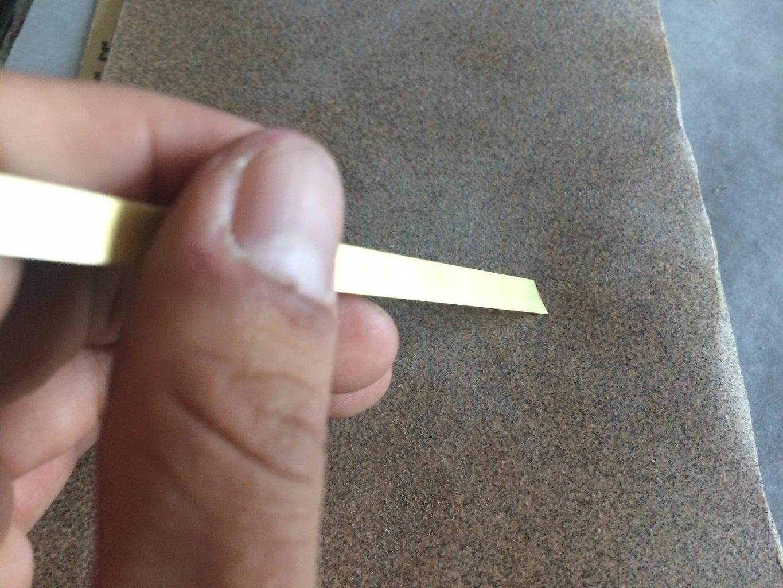 Adding Brass Strips to Add Elegance!