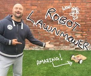 Arduino Controlled Robot Lawnmower - Ultrasonic and RGB Sensors ( Arduino 控制機器割草機 - 超聲波和RGB傳感器)- Howard Taylor Robot Lawnmower - YouTube
