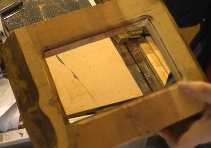 Cutting the Inside Decorative Piece