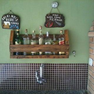 Wine/Whiskey Rack - Pallet Wood