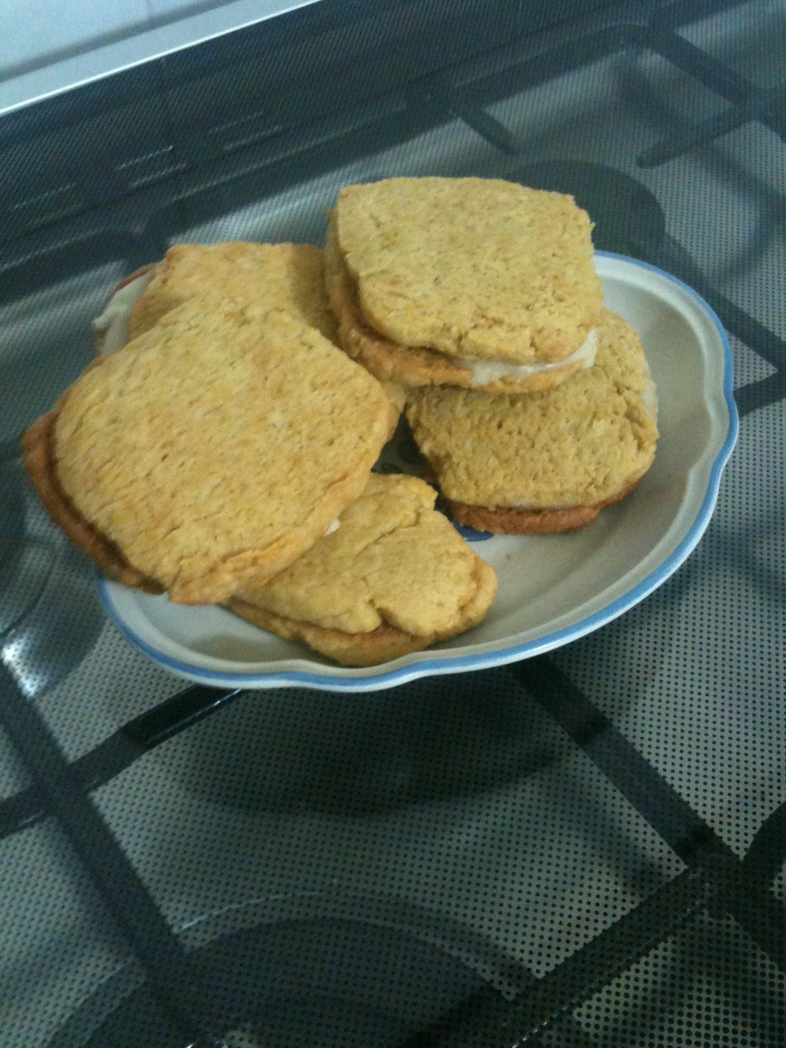 Lemon Cookie Sandwiches
