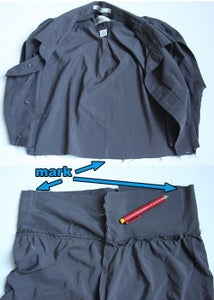Step 8: Attach Shorts Part to Shirt Part