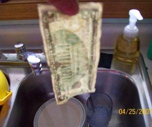 How to Press Dollar Bills