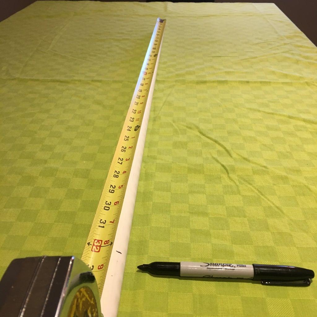 Measuring the Blade