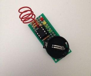 Attiny85 EMF Detector