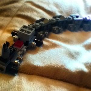 Lego Mini Transformer Train