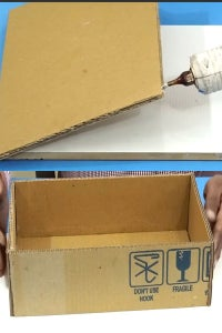 Let's Paste the Cardboard!