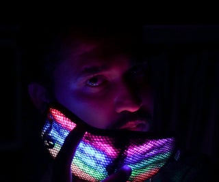 Neopixel Facemask Using Arduino