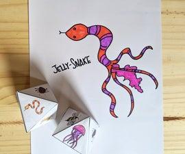 DIY动物骰子游戏