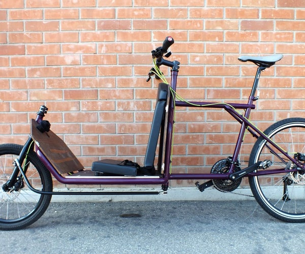 OFFICINE | RECYCLE - How to Build a Two Wheel Cargo-bike