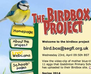 Register With the SEGfL Birdbox Project