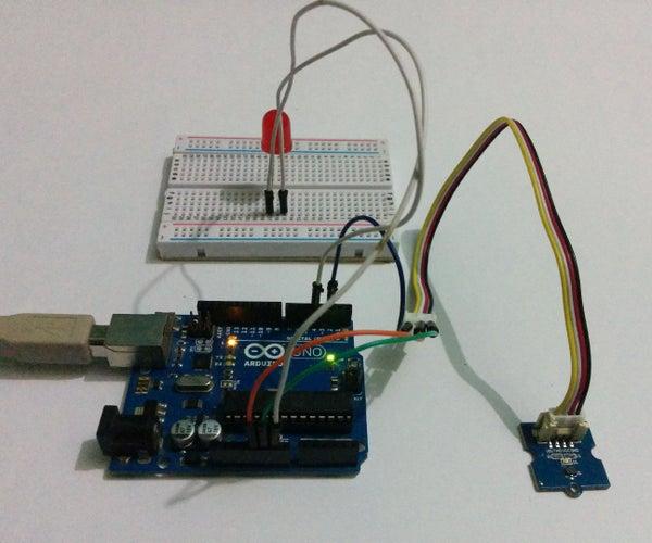 Grove Hall Sensor - Arduino