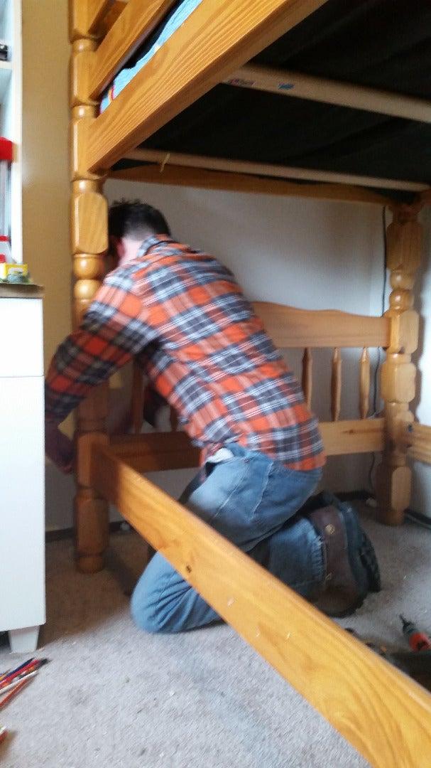 Remove Wooden Boards.