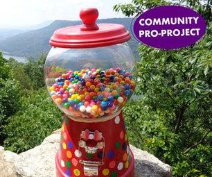 SMS Message LittleBits Gumball Machine