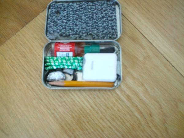 Altoids Tin Anti-Boredom Survival Kit