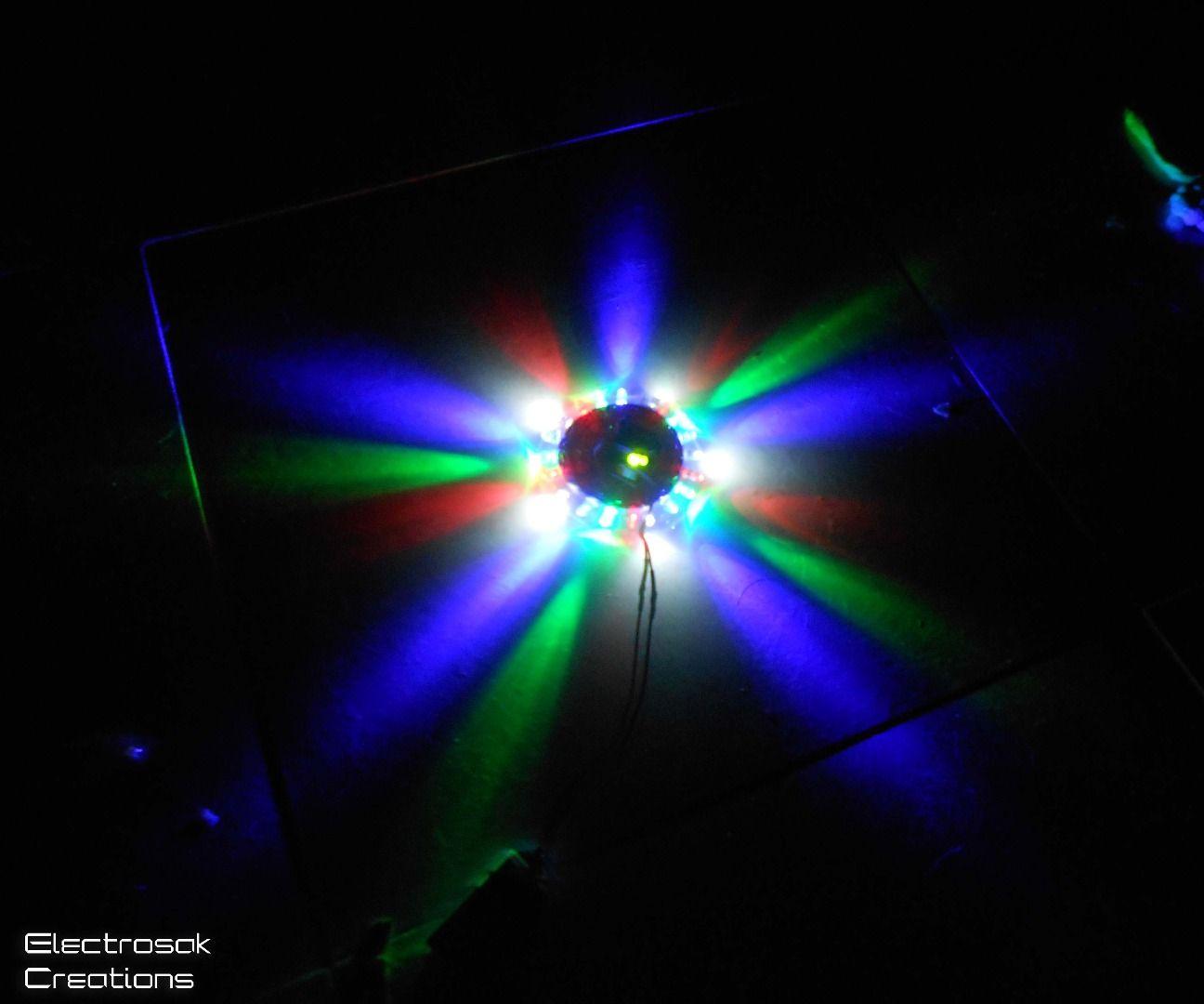 UFO LED chaser