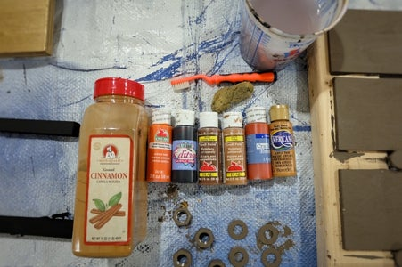 Whip Out the Acrylic Paints and What?, Cinnamon