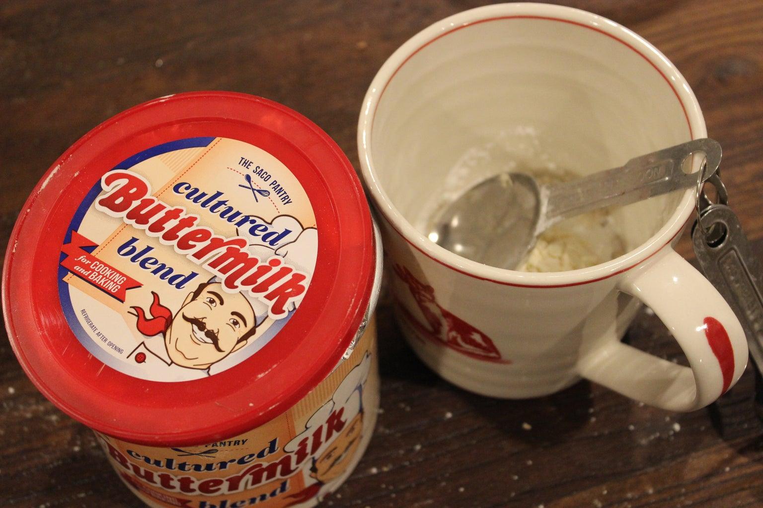 Add Buttermilk Blend