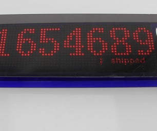 Pixel Shipped Counter Based on Arduino