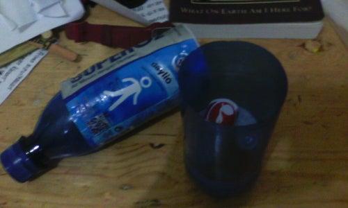 DIY Bottle Safe