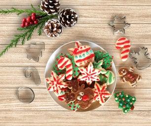 做饼干和你自己的圣诞刀具