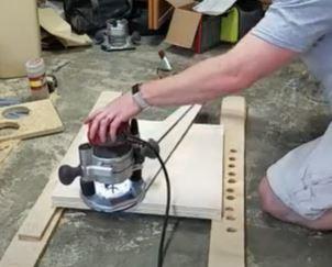 Cut Plywood Circles
