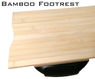 Bamboo Footrest