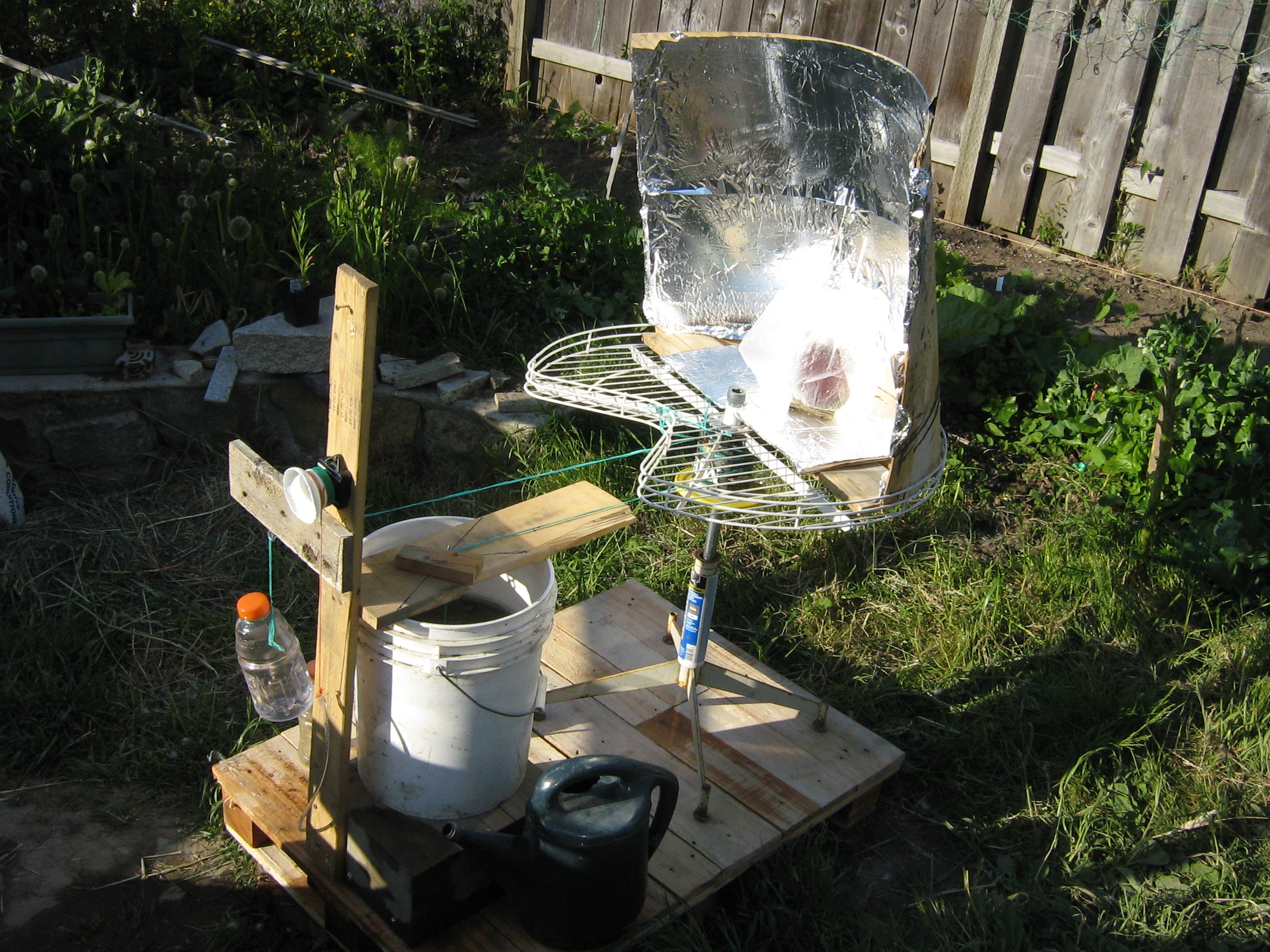 Adapt a clock today! Cheap trackers boost solar panel and solar cooker performance.